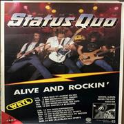 Click here for more info about 'Status Quo - Alive And Rockin''