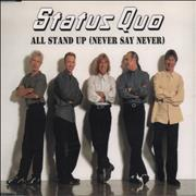 Click here for more info about 'Status Quo - All Stand Up (Never Say Never)'