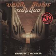 Status Quo Back To Back - Sealed UK vinyl LP