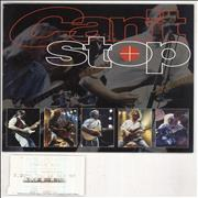 Click here for more info about 'Status Quo - Can't Stop + Stub'