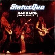 Click here for more info about 'Status Quo - Caroline'