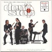 Status Quo Don't Stop - Transparent Heavyweight Vinyl UK 2-LP vinyl set