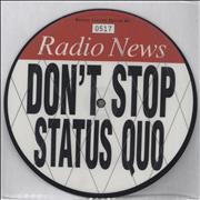 Click here for more info about 'Status Quo - Don't Stop'