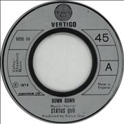 Click here for more info about 'Status Quo - Down Down - Jukebox'
