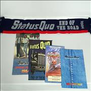 Click here for more info about 'Status Quo - End Of The Road + Letter, Merchandise Insert & Stamps/stickers'
