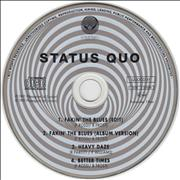 Click here for more info about 'Status Quo - Fakin' The Blues'