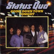 Click here for more info about 'Status Quo - Going Down Town Tonight'