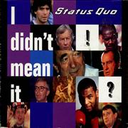 Click here for more info about 'Status Quo - I Didn't Mean It - Part 2'
