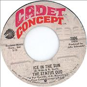 Click here for more info about 'Status Quo - Ice In The Sun'