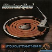 Status Quo If You Can't Stand The Heat - 2nd Issue UK vinyl LP