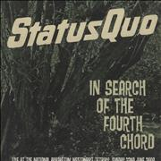 Status Quo In Search Of The Fourth Chord - Live UK CD-R acetate