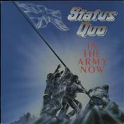 Click here for more info about 'Status Quo - In The Army Now + Merchandise insert'