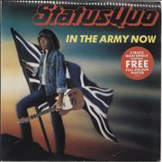 Click here for more info about 'Status Quo - In The Army Now + poster - Shrink'