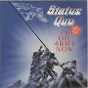 Click here for more info about 'Status Quo - In The Army Now - Stickered'