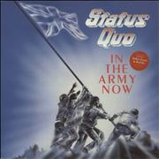 Status Quo In The Army Now - gold stamp UK vinyl LP