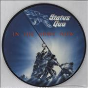 """Status Quo In The Army Now UK 7"""" picture disc"""