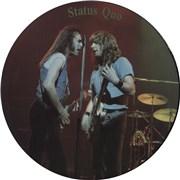 Status Quo Interview Picture Disc UK picture disc LP