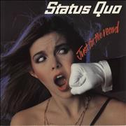 Click here for more info about 'Status Quo - Just For The Record - Red Vinyl - VG'