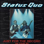 Click here for more info about 'Status Quo - Just For The Record Uk Tour '93'