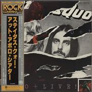 Status Quo Live + obi Japan 2-LP vinyl set