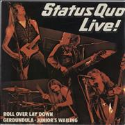 Click here for more info about 'Status Quo - Live! - EX'