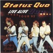 Click here for more info about 'Status Quo - Live Alive Quo + Stub'