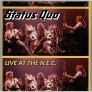 Status Quo Live At The N.E.C. UK 3-LP vinyl set