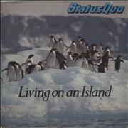 Click here for more info about 'Status Quo - Living On An Island'