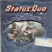 Click here for more info about 'Status Quo - Never Say Never + Ticket Stub'