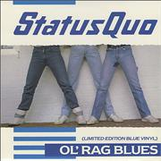 Click here for more info about 'Status Quo - Ol' Rag Blues - Blue Vinyl'