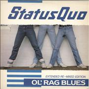 Click here for more info about 'Status Quo - Ol' Rag Blues - Ex'