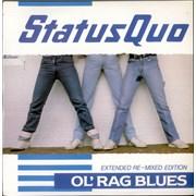 """Status Quo Ol' Rag Blues UK 12"""" vinyl"""