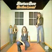 Status Quo On The Level - EX UK vinyl LP