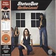 Click here for more info about 'Status Quo - On The Level - Orange Vinyl'