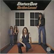 Status Quo On The Level UK vinyl LP