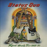 Status Quo Perfect Remedy Tour 1989-90 UK tour programme