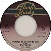 Click here for more info about 'Status Quo - Pictures Of Matchstick Men - wide'