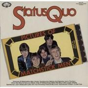 Status Quo Pictures Of Matchstick Men UK vinyl LP