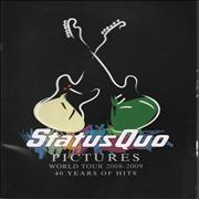 Click here for more info about 'Status Quo - Pictures: World Tour 2008-2009 - 40 Years Of Hits'