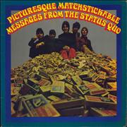 Status Quo Picturesque Matchstickable Messages From The Status Quo UK vinyl LP