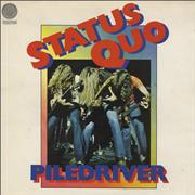 Click here for more info about 'Status Quo - Piledriver - 1st - VG'