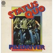 Status Quo Piledriver - 1st - VG UK vinyl LP