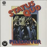Click here for more info about 'Status Quo - Piledriver - Blue Vinyl + Sealed'