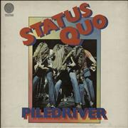 Click here for more info about 'Status Quo - Piledriver - 2nd - Gatefold Sleeve'