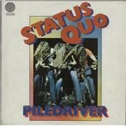 Status Quo Piledriver Australia vinyl LP