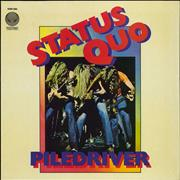 Click here for more info about 'Status Quo - Piledriver'
