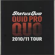 Click here for more info about 'Status Quo - Quid Pro Quo - 2010/11 Tour'