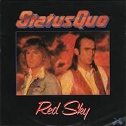 Click here for more info about 'Status Quo - Red Sky'