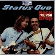 Click here for more info about 'Status Quo - Rock 'Til You Drop + Ticket Stub'