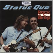 Click here for more info about 'Status Quo - Rock 'Til You Drop + Ticket Stub & t-shirt'